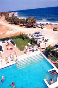 pool hotel in lasithi milatos Crete